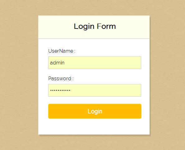 php login form w3schools