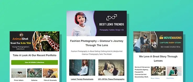 9+ Best Photographer Email Templates For Photo Studios FormGet