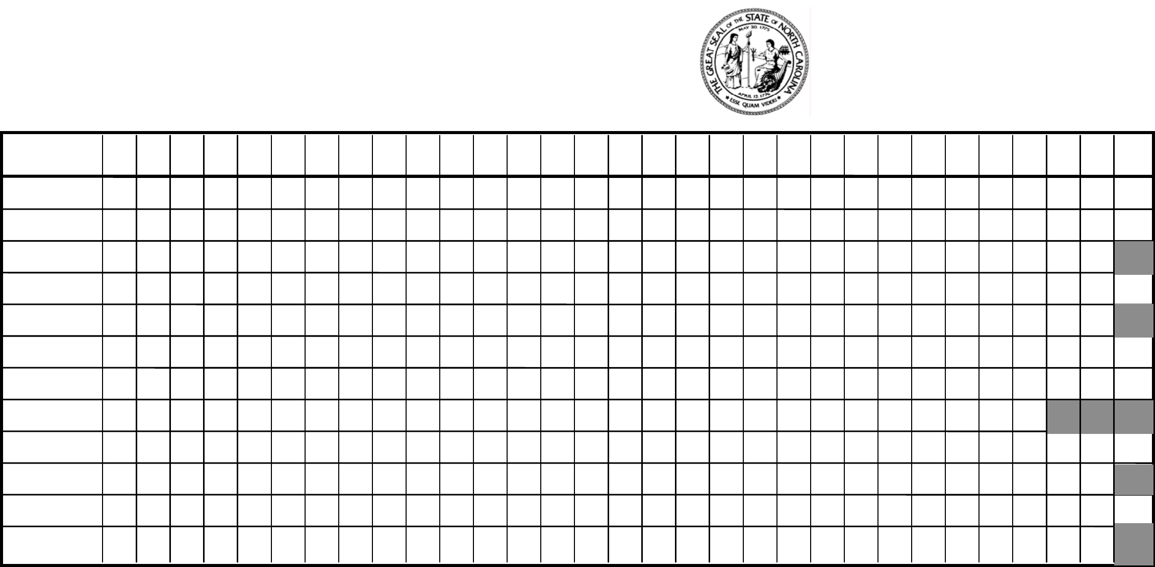 attendance record form