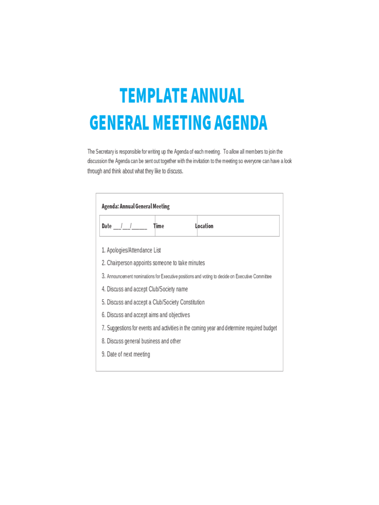 Resume Template Excel Free Free Creative Professional Photoshop Cv Template Annual General Meeting Agenda Template 8 Free Templates