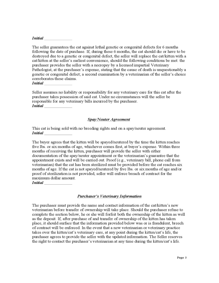 bill of sale contract