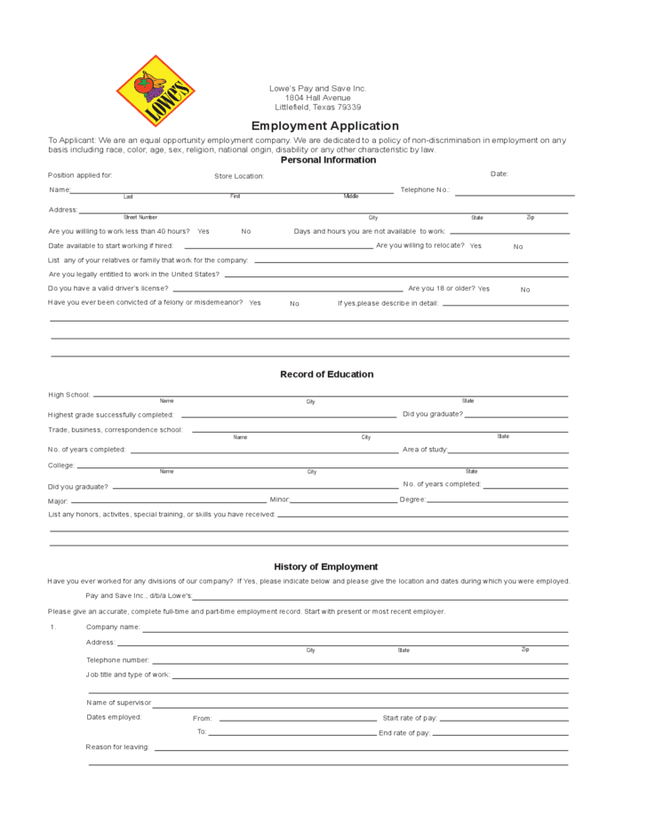 Bureau Of Indian Education Home Lowes Employment Application Form Free Download