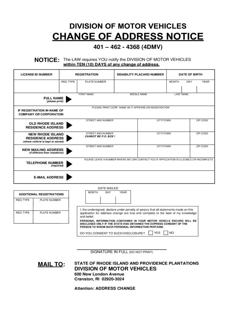 Doc420527 Address Change Form Download local purchase order form – Printable Address Change Form