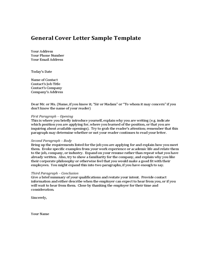 general cover letter example for resumes alexa resume sample letters a ...