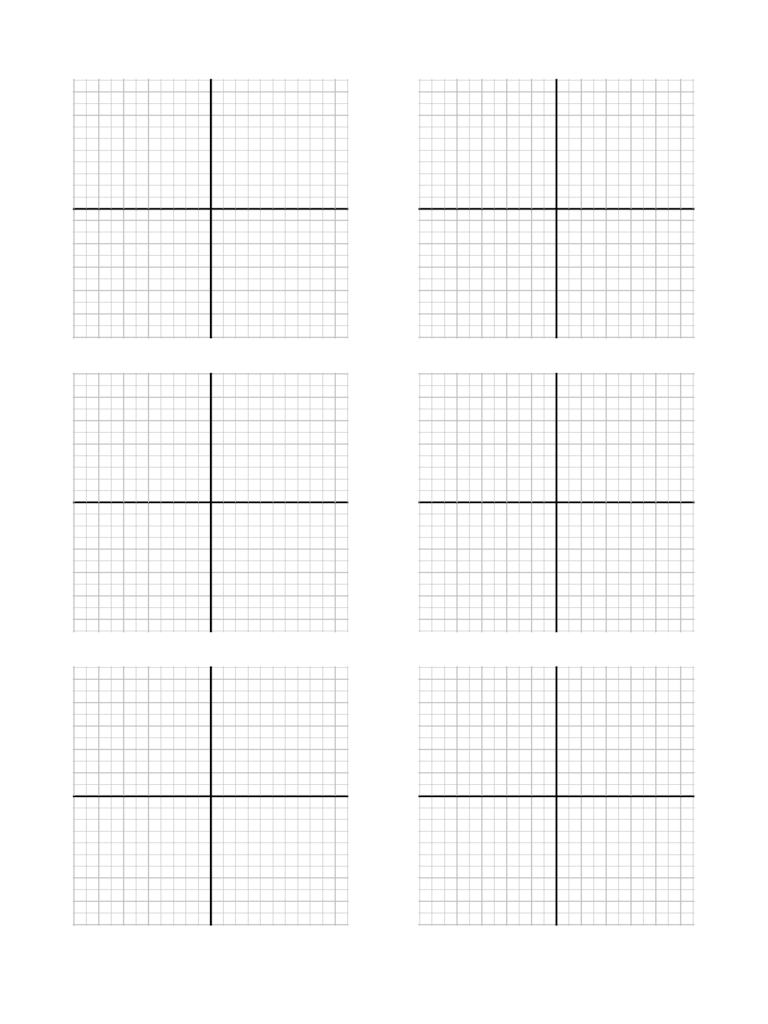 graph paper template with x y axis