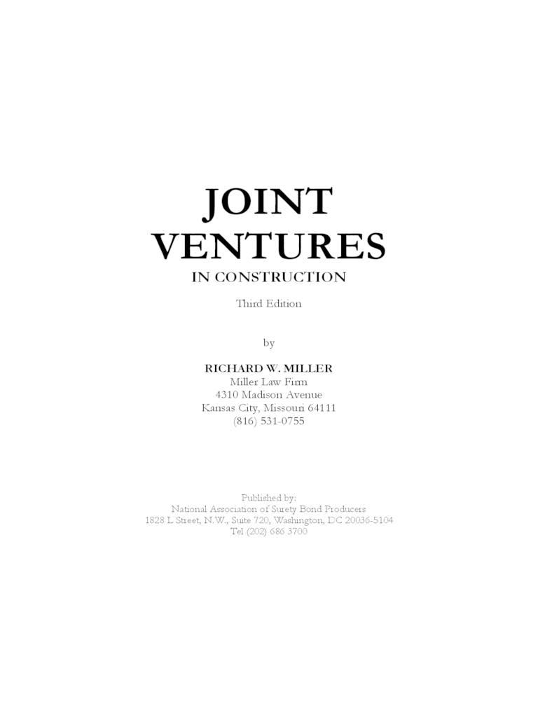 joint venture agreement sample word format – Free Sample Joint Venture Agreement Template