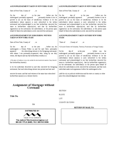 Assignment of mortgage document used in a sentence - frudgereport594.web.fc2.com