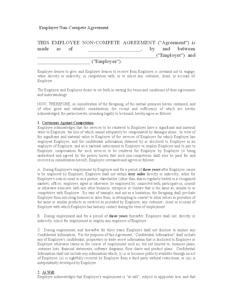 non compete agreement draft cover letter templates non compete agreement draft non compete agreement sample contracts and business forms non disclosure agreement template