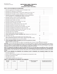 Printables. Estimated Tax Worksheet Calculator. Mywcct ...