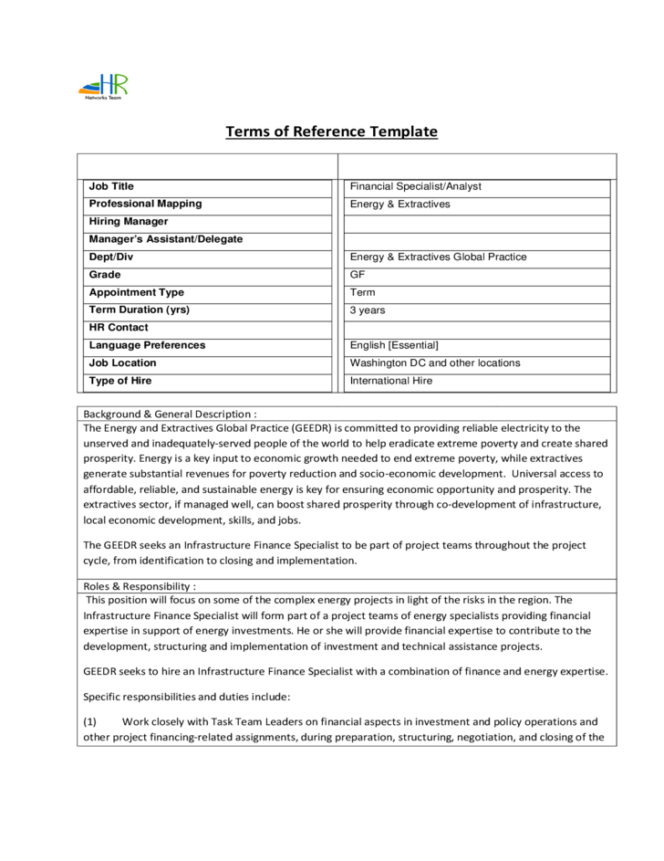 Index Reference List Template – Reference List Template