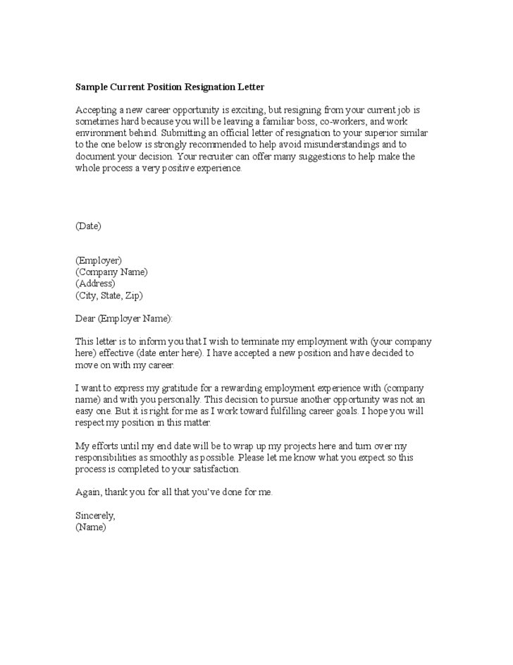 how to write a resignation letter to employer When you resign, you usually need to tell your employer the last date you'll be coming in to work this is called giving notice write a resignation letter.