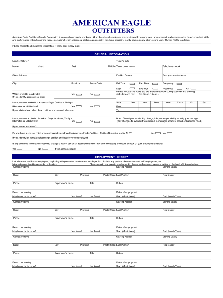 State Of Texas Application For Employment Job Application Form 103 Free Templates In Pdf Word