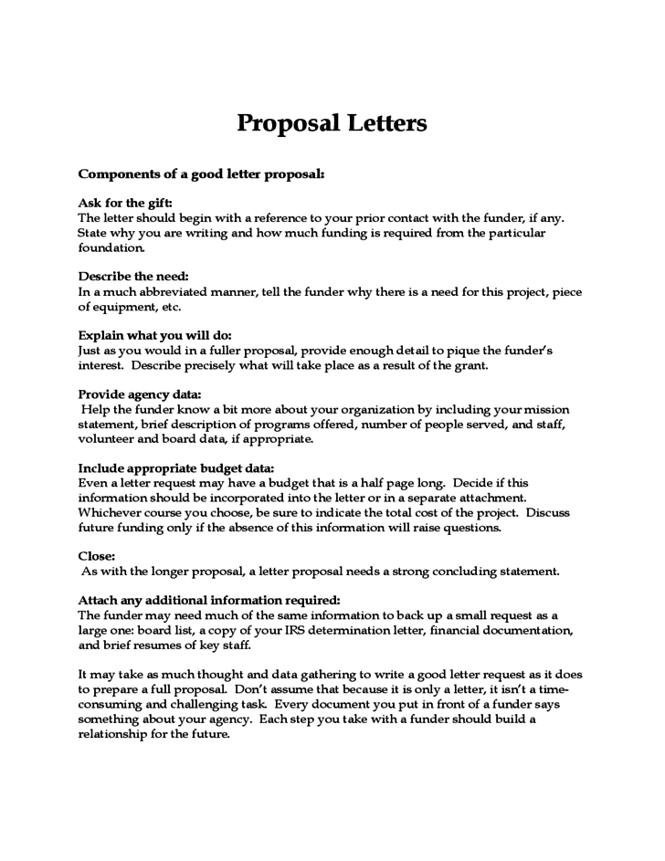 Ccgw Sample Grant Proposal Grant Writing Resource Proposal Letters Free Download