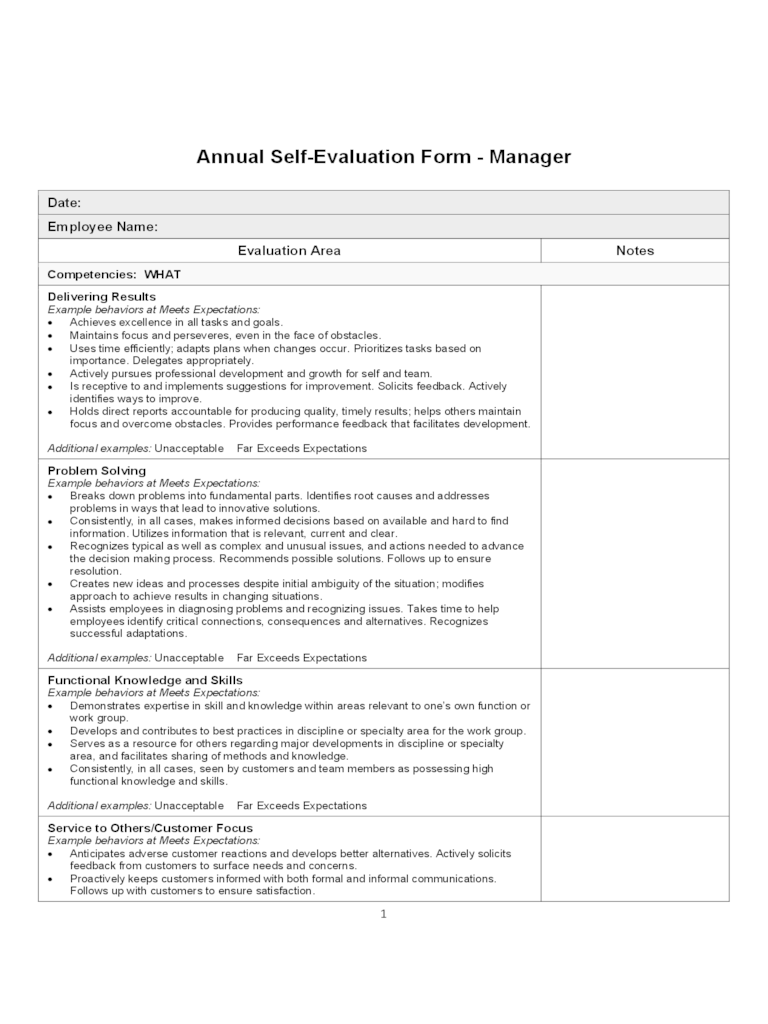 Msi Worldwide Evaluation Form 112 Free Templates In Pdf Word Excel