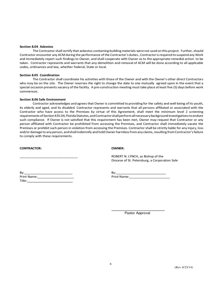 Construction Contract Template New York | Cover Letter Sample For Job