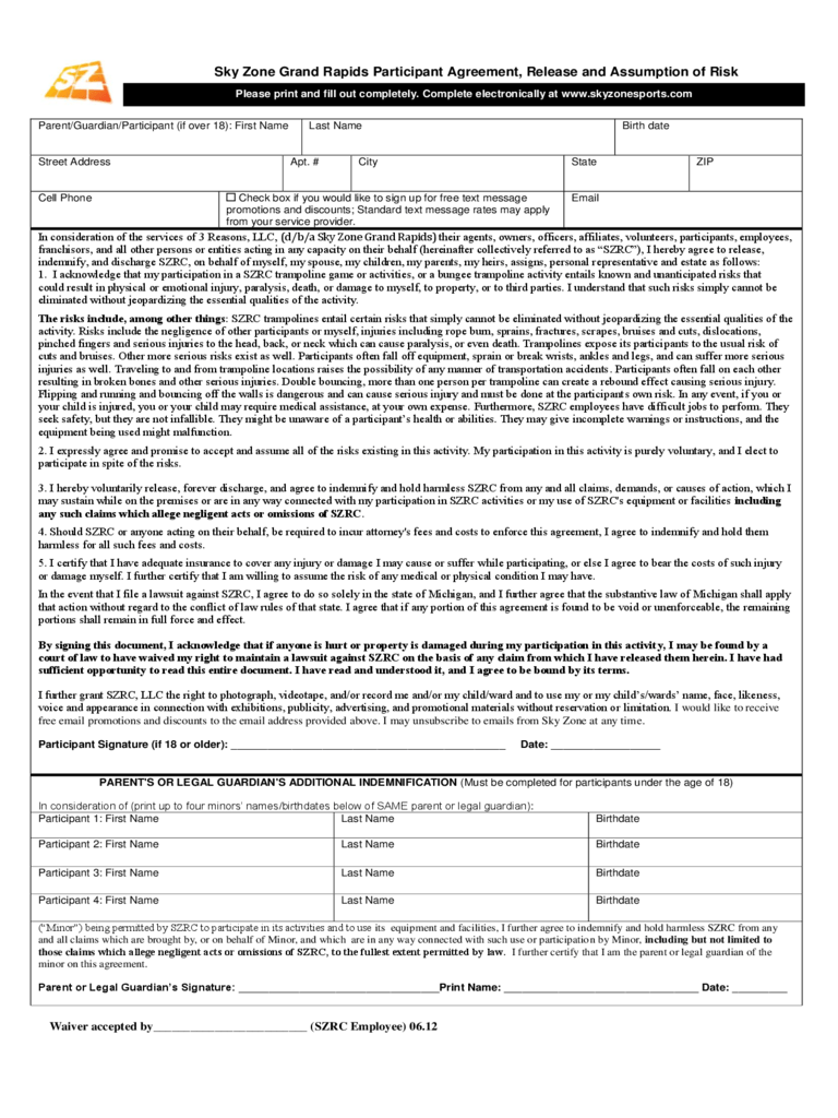 Resume Template Free Online Pdf And Word Doc Cv Builder Waiver Form 46 Free Templates In Pdf Word Excel Download