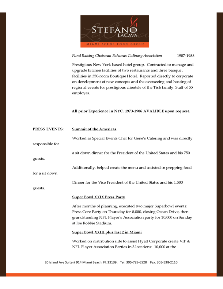 standard format of resume the standard resume format for a winning applicant summary of qualifications standard