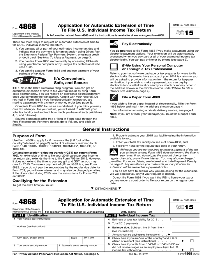 Irs Form Automatic Extension | Professional resumes sample online