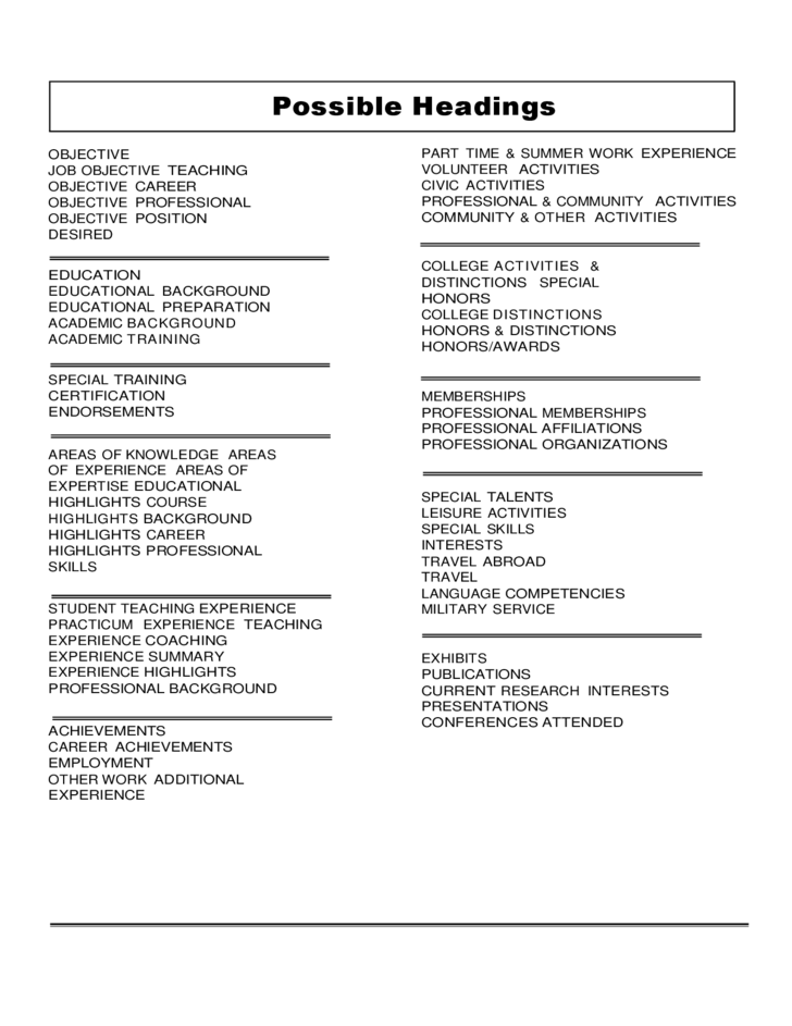 sample sec attorney resume