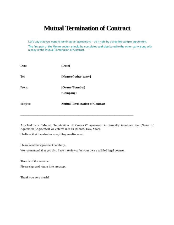cover letter for contract manager position