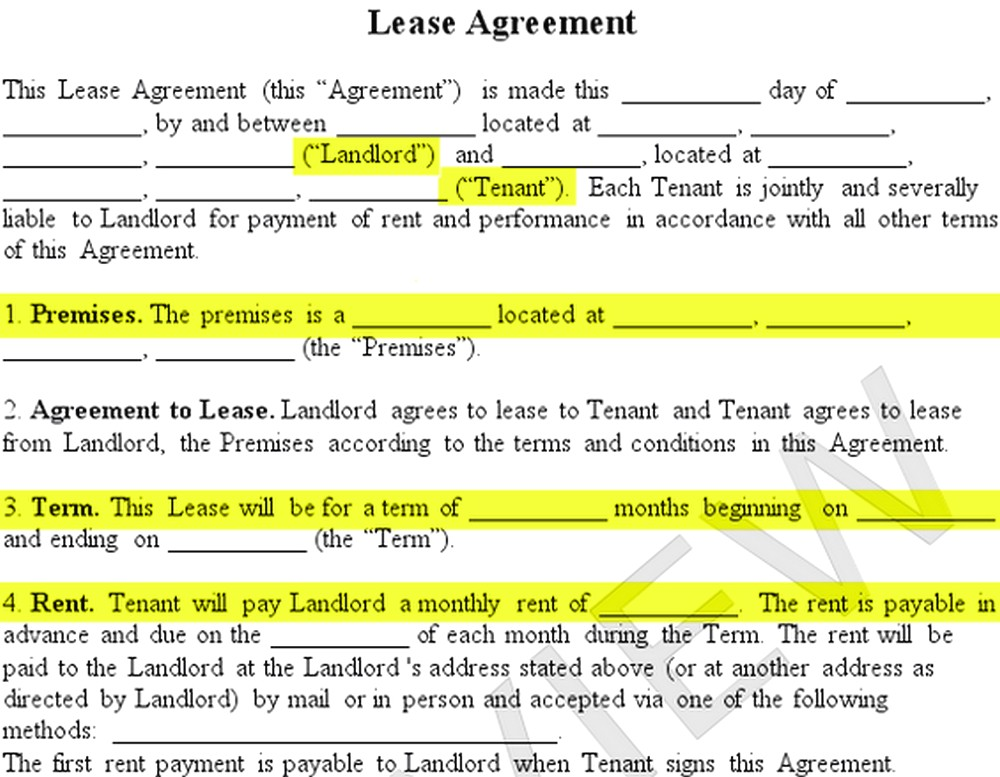 How To Make a Lease Agreement For Student Boarding House - Free Job