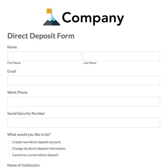 HR Templates HR Forms Formstack