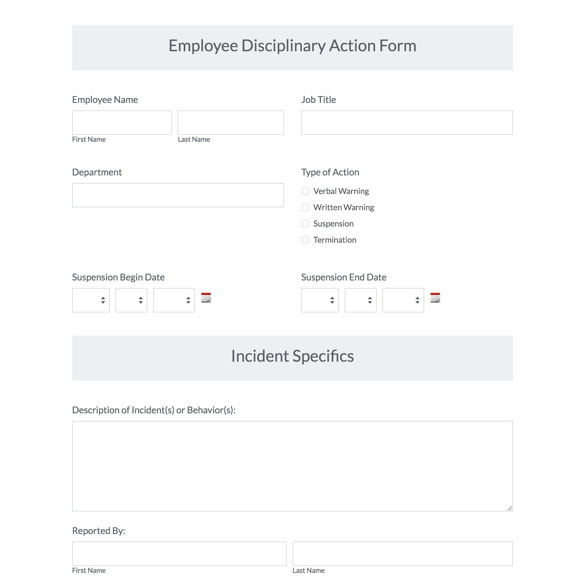HR Templates HR Forms Formstack