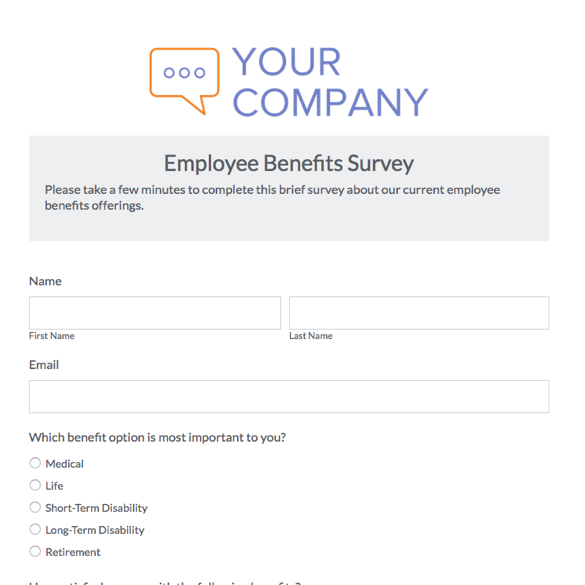 Survey Forms  Templates Formstack - Free Survey Template