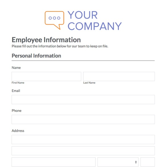 Information Form Template Word  NodeCvresumePaasproviderCom