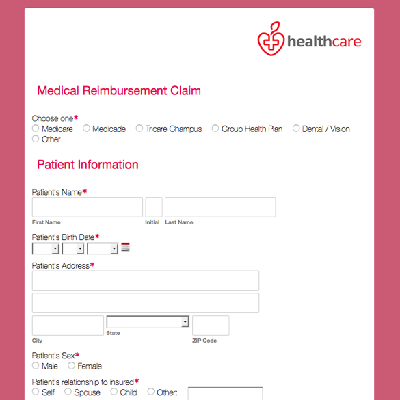 Sample Medical Application Form Social-Security-Disability - sample medicare application form