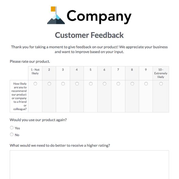 Survey Forms  Templates Formstack - survey form