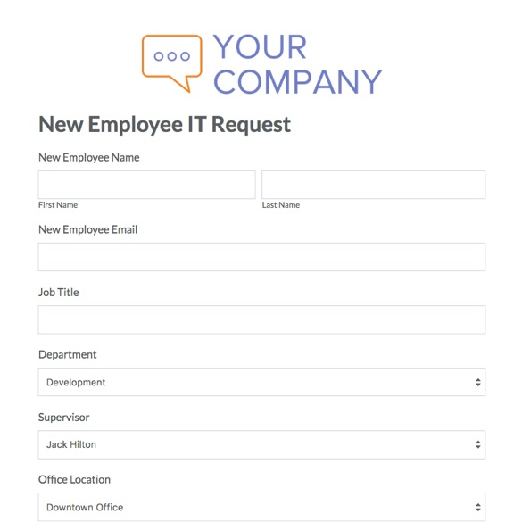 HR Forms and Templates Streamline Admin Tasks Formstack - new employee template