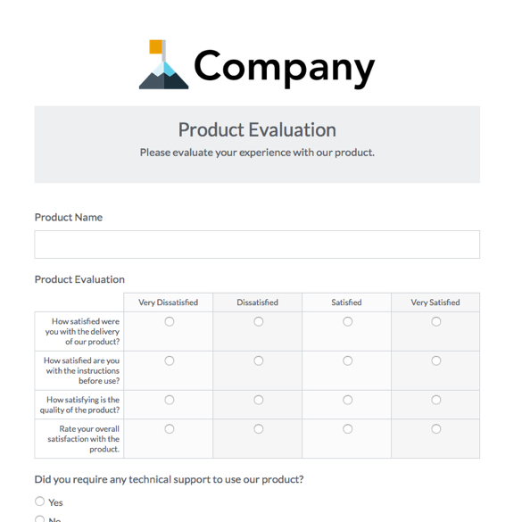 Online Business Forms; Templates for Every Department Formstack - business forms templates