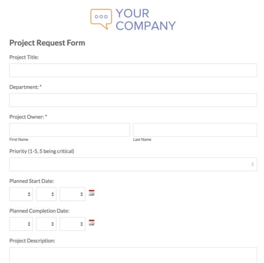 Request Form Templates Request Forms Formstack - project request form