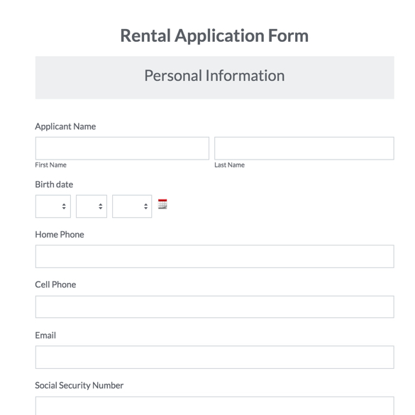 Business Forms Business Form Templates Formstack