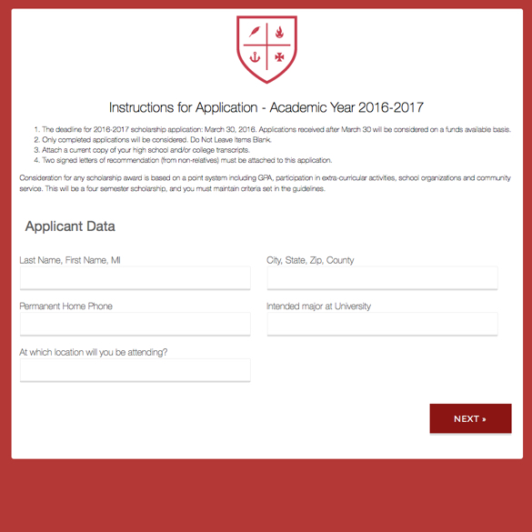 Education Forms  Templates Formstack