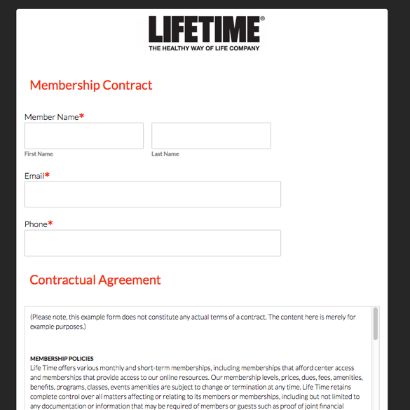Event Forms  Fundraising Form Templates Formstack - vendor contract agreement