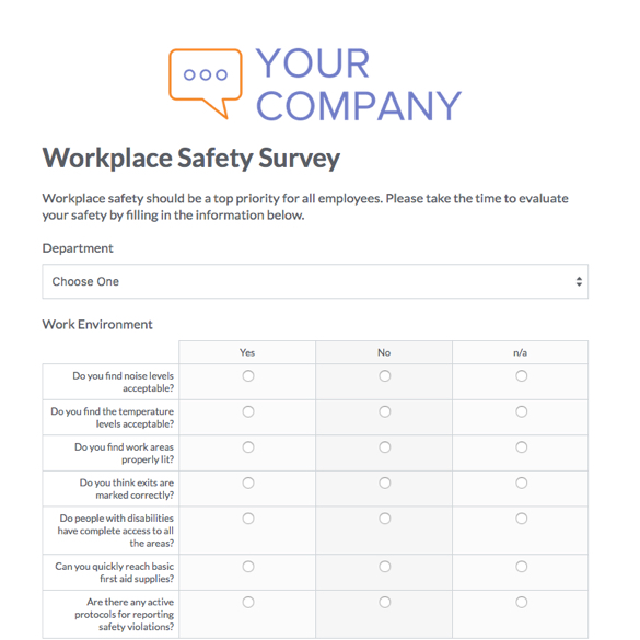 Survey Forms Templates Formstack