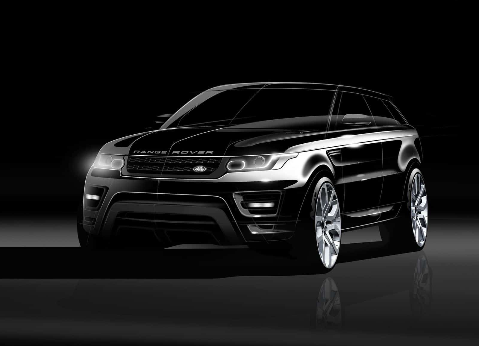 Classic Car 4k Wallpapers New Range Rover Sport Sketches And Renderings
