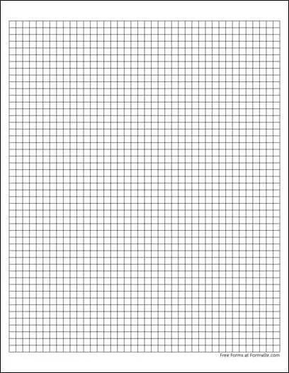 small square graph paper