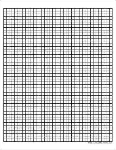 5 squares per inch graph paper