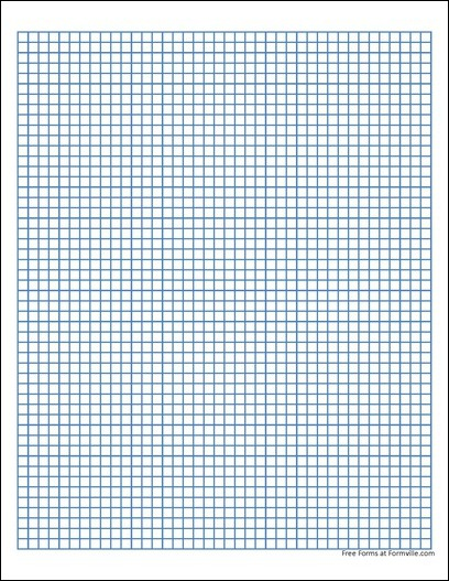 Free Graph Paper (5 Millimeter Heavy Blue) from Formville - standard graphing paper