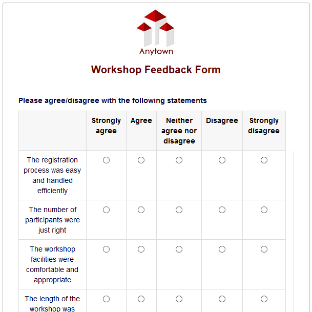 workshop feedback form - Heart.impulsar.co