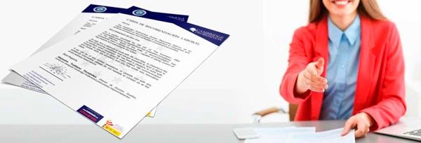 Modelos de Carta de Recomendación Laboral (Ecuador) - Ejemplos de