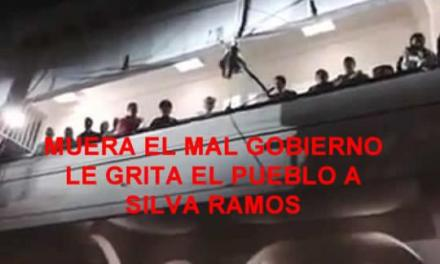MUERA EL MAL GOBIERNO – LE GRITA TUXPAN A ALBERTO SILVA RAMOS