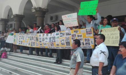 Maestros del MMPV se manifestaron en apoyo a docentes Oaxaqueños
