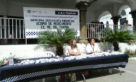 Realizan acopio de medicamentos