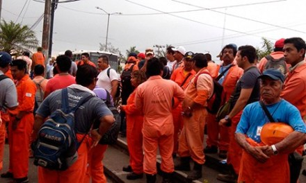 TRADECO incumple nuevamente con salario de obreros