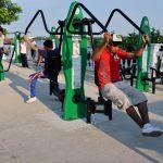 Anuncia Ayuntamiento de Tuxpan, Instalación de Gimnasio al Aire Libre