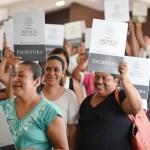 Concretan 1ra Etapa de Escrituración en la Toribio García Lorenzo